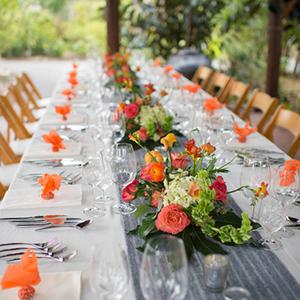Ourdoor Wedding Placesettings