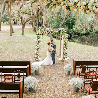 Recently catered weddings in Naples, FL