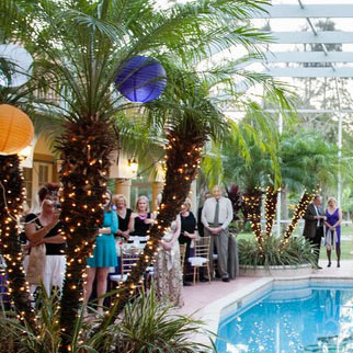 Knickbocker Naples Wedding space.