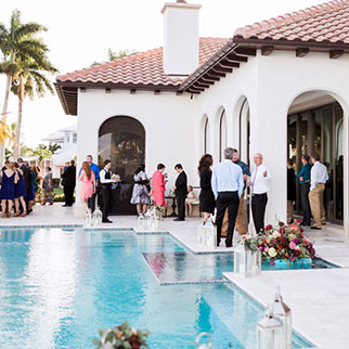 Outdoor wedding in Naples, FL
