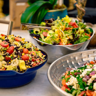 Salads by Tastebuds Custom Catering