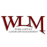 Work-a-holics Landscape Management logo