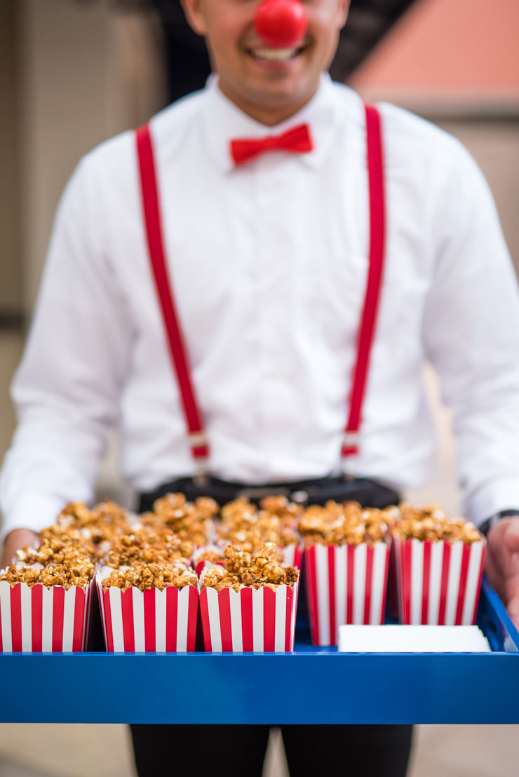 Passed Popcorn Appetizer